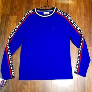 Vintage Tommy Hilfiger Spellout Sweater